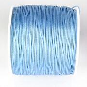 Snur nylon pentru bratari grosime 1mm, rola de 100m - albastru deschis