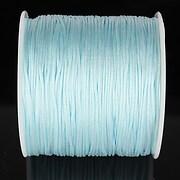 Snur nylon pentru bratari grosime 1mm, rola de 100m - bleu