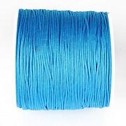 Snur nylon pentru bratari grosime 1mm, rola de 100m -albastru marin