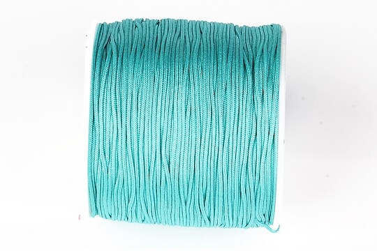 Snur nylon pentru bratari grosime 1mm, rola de 100m - turcoaz