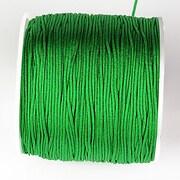 Snur nylon pentru bratari grosime 1mm, rola de 100m - verde