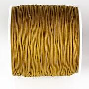 Snur nylon pentru bratari grosime 1mm, rola de 100m - ocru