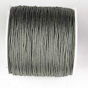 Snur nylon pentru bratari grosime 1mm, rola de 100m - gri