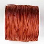 Snur nylon pentru bratari grosime 1mm, rola de 100m - maro caramiziu