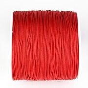 Snur nylon pentru bratari grosime 1mm, rola de 100m - rosu