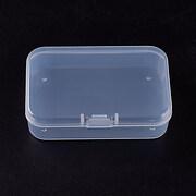 Cutie mica din plastic pentru margele 7,5x5cm