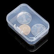 Cutie mica din plastic pentru margele 6,4x4,4cm