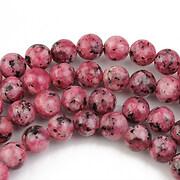 Sesame jasper roz sfere 6mm