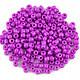 Margele de nisip 3mm opace (50g) - cod 408 - mov lila