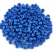 Margele de nisip opace 3mm (50g) - cod 465 - albastru