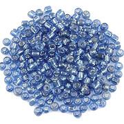 Margele de nisip cu foita 3mm (50g) - cod 610 - albastru