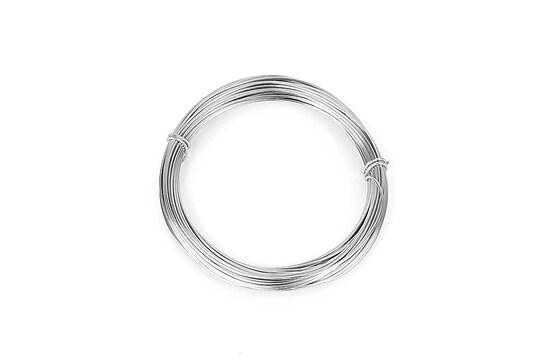 Sarma de modelaj aluminiu, grosime 1mm, pachet 10m - argintiu