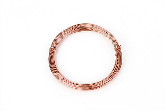Sarma de modelaj aluminiu, grosime 0,8mm, pachet 10m - rose gold
