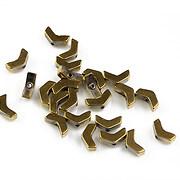Hematit sageata auriu inchis 6x3mm