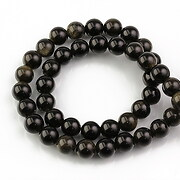 Sirag obsidian auriu sfere 8mm
