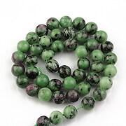 Sirag ruby in zoisite sfere 8mm