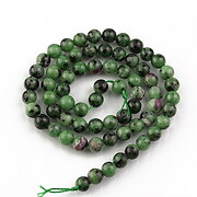 Sirag ruby in zoisite sfere 6mm