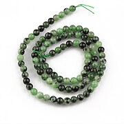 Sirag ruby in zoisite sfere 4mm