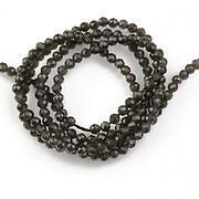 Sirag obsidian sfere fatetate 2mm