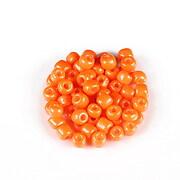 Margele de nisip opace 4mm (50g) - cod 735 - portocaliu