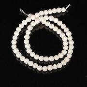 Sirag coral alb sfere 5,5mm