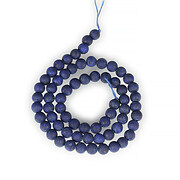 Sirag lapis lazuli frosted (mat) sfere 6mm