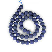 Sirag lapis lazuli frosted (mat) sfere 8mm