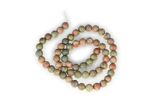 Sirag unakite frosted (mat) sfere 6mm