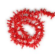 Sirag coral rosu tepi 2x8-18mm
