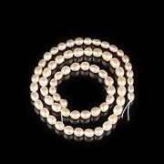 Sirag perle de cultura crem aprox. 5x5,5-6mm