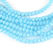 Sirag cristale rondele 2,5x3,5mm - albastru