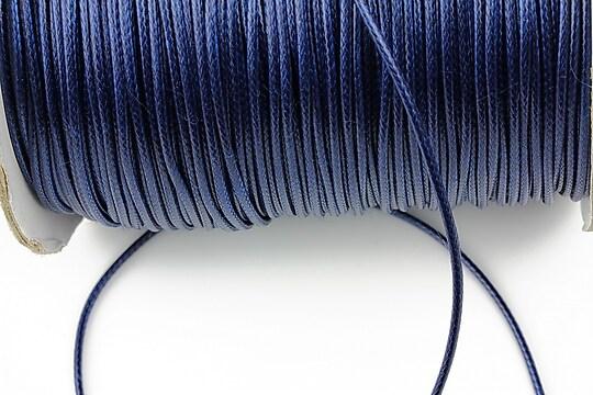 Snur cerat grosime 1,5mm, albastru inchis (5m)