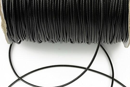 Snur cerat grosime 1,5mm, negru (5m)