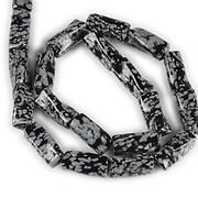Sirag snowflake obsidian rasucit 20x10mm
