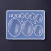 Matrita din silicon pentru cabochoane ovale - 86x66x10mm