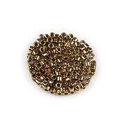 Margele de nisip pentru brodat 2x1,5mm, 10 grame - bronz