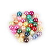 Perle de sticla, sfere 6mm - mix (100 buc.)