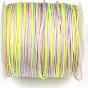 Snur Shamballa Dandelion grosime 1mm, rola de 100m - pastel multicolor