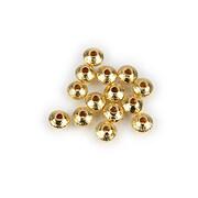 Distantiere metalice tip Heishi rondele 5x2,5mm - auriu deschis