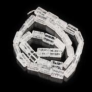 Sirag cristal de gheata dreptunghi 11x7mm