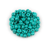 Margele de nisip 3mm (50g) - cod 770 - verde turcoaz