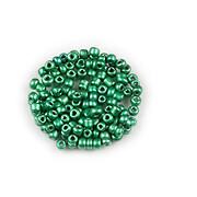 Margele de nisip 2mm (50g) - cod 777 - verde sidefat