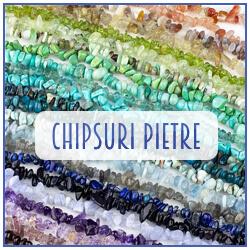 Chipsuri, sparturi din pietre semipretioase