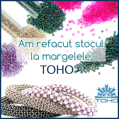 Margele TOHO inapoi in stoc!